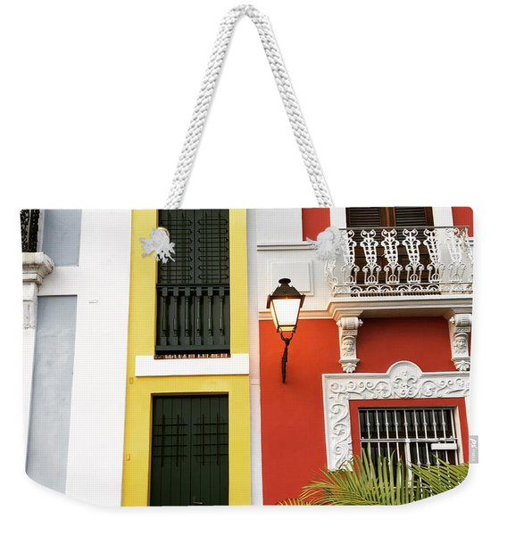 Old San Juan Homes Weekender Tote Bag
