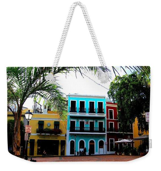 Old San Juan Pr Weekender Tote Bag