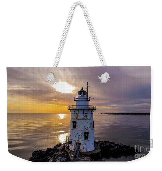 Old Saybrook Outer Light Weekender Tote Bag