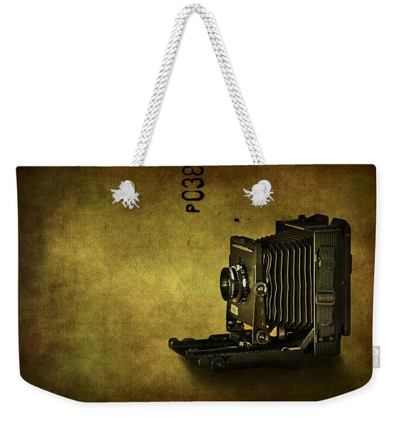 Old School Weekender Tote Bag