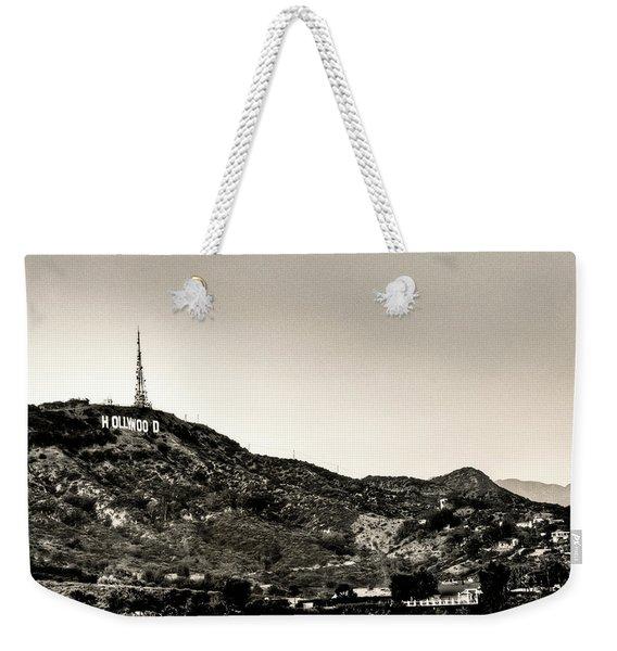 Old School Hollywood Weekender Tote Bag