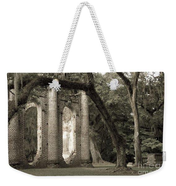 Old Sheldon Church Weekender Tote Bag