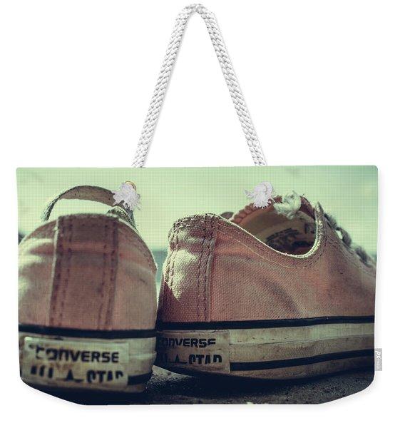 Old Shoes Weekender Tote Bag