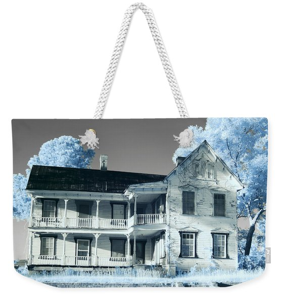 Old Shull House In 642 Weekender Tote Bag