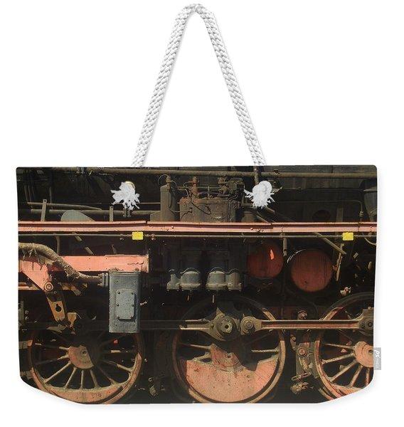 Old  Steam Train ...france Weekender Tote Bag