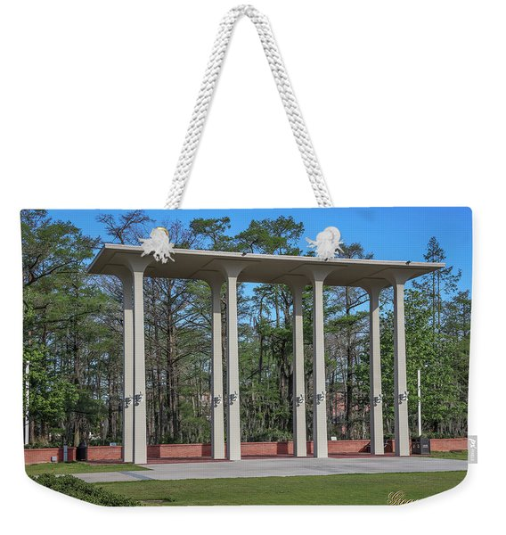 Old Student Union Arches Weekender Tote Bag