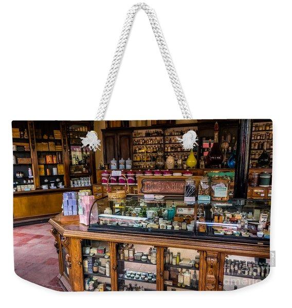 Old Time Cures Weekender Tote Bag