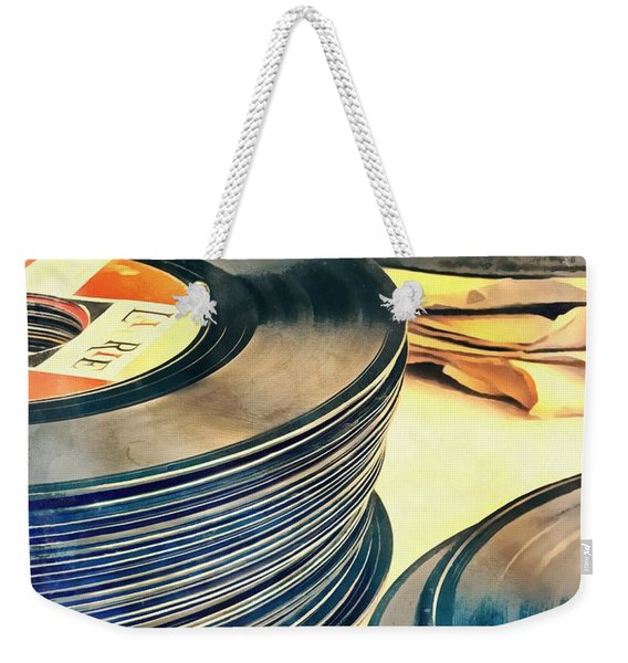 Old Time Rock And Roll Weekender Tote Bag