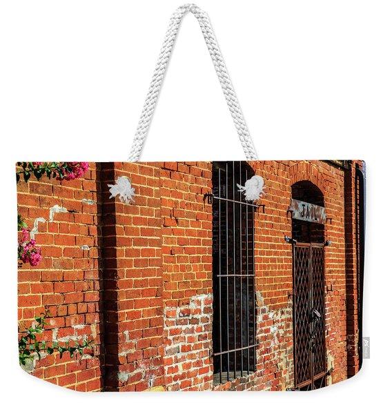 Old Town Jail Weekender Tote Bag