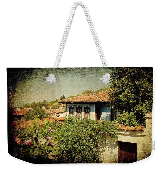 Old Town Weekender Tote Bag