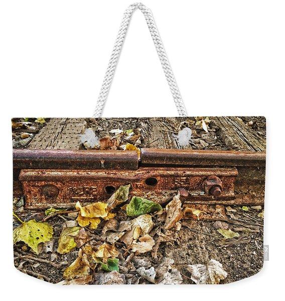 Old Tracks Weekender Tote Bag
