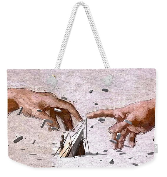Traditional Art Vs. Digital Art Weekender Tote Bag