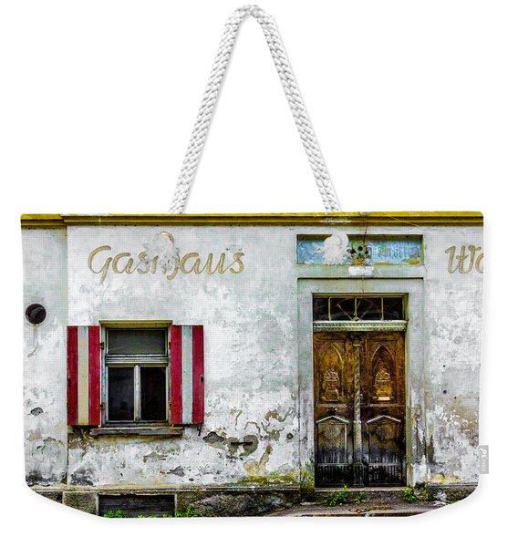 Old Traditional Austrian Tavern Weekender Tote Bag