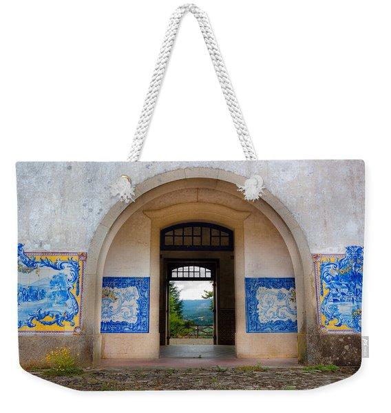Old Train Station Weekender Tote Bag