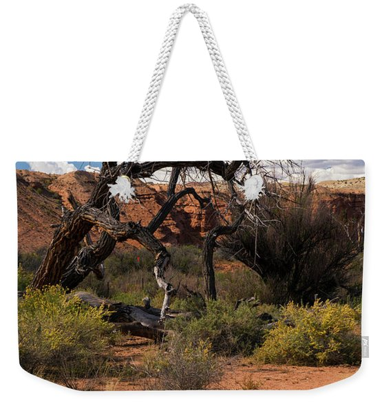 Old Tree In Capital Reef National Park Weekender Tote Bag