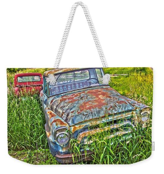 001 - Old Trucks Weekender Tote Bag