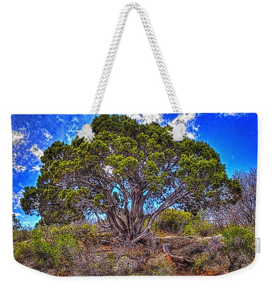 Old Utah Juniper Weekender Tote Bag