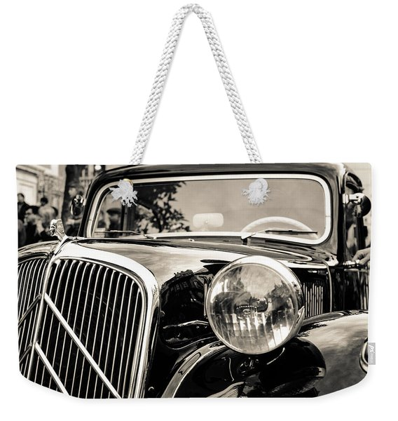 Citroen Traction Avant Weekender Tote Bag