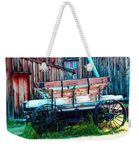 old Wagon In Bodie Weekender Tote Bag