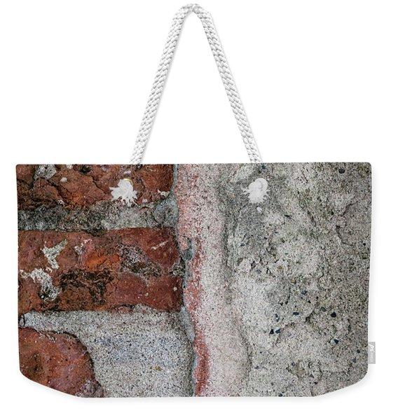 Old Wall Detail Weekender Tote Bag