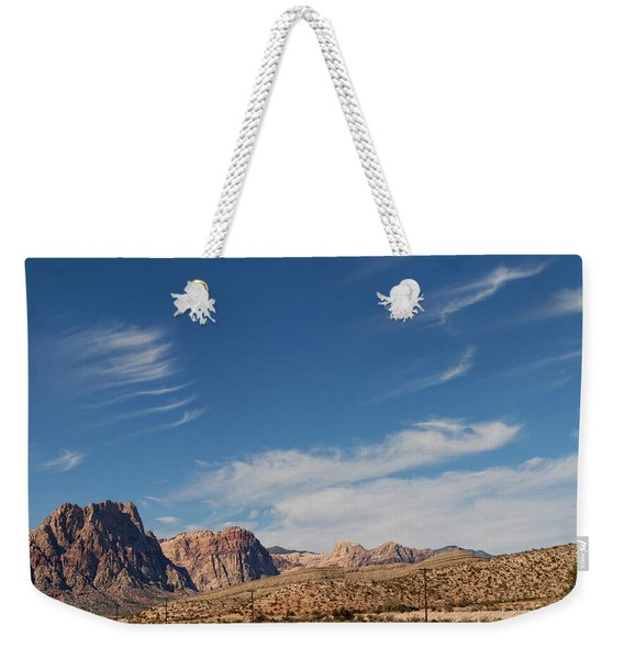 Old West Poles Weekender Tote Bag