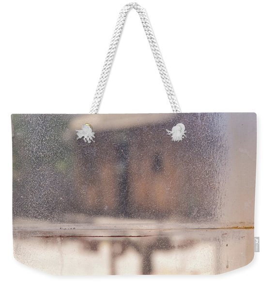 Old Western Town Through The Glass Weekender Tote Bag