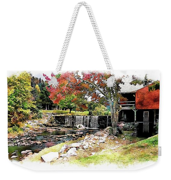 Old Wooden Mill Weekender Tote Bag