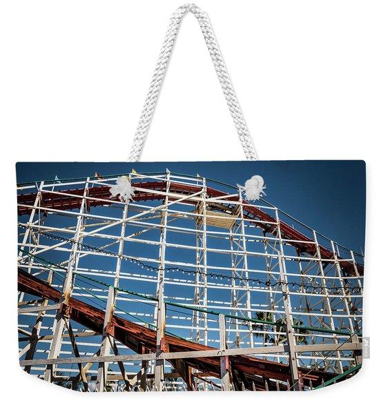 Old Woody Coaster Weekender Tote Bag