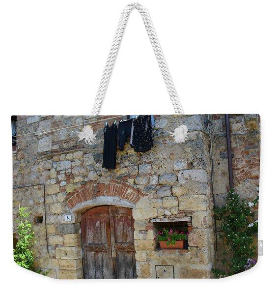 Old World Door Weekender Tote Bag