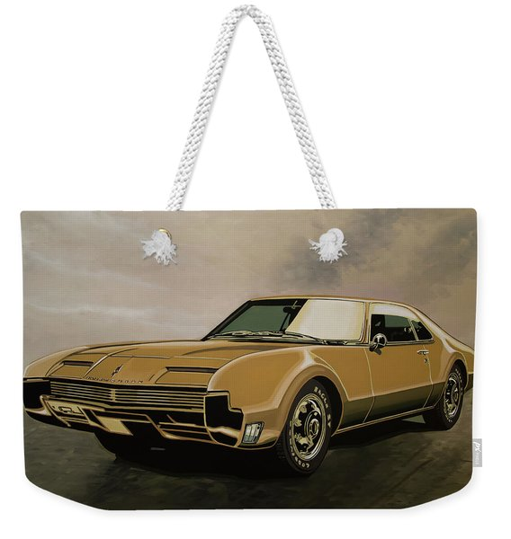 Oldsmobile Toronado 1965 Painting Weekender Tote Bag