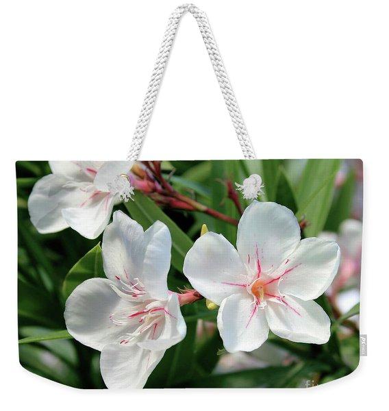 Oleander Harriet Newding 3 Weekender Tote Bag