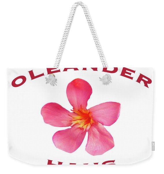 Oleander Haus Weekender Tote Bag