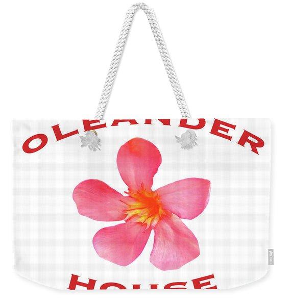 Oleander House Weekender Tote Bag