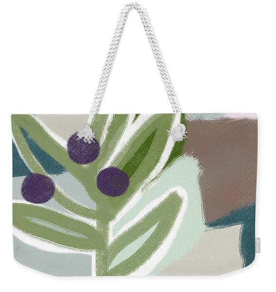 Olive Branch 1- Art By Linda Woods Weekender Tote Bag