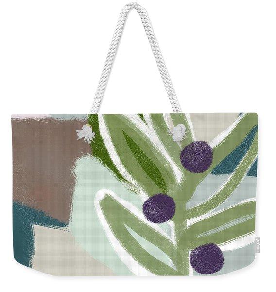 Olive Branch 2- Art By Linda Woods Weekender Tote Bag