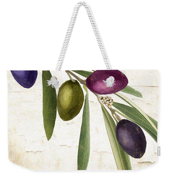 Olive Branch Weekender Tote Bag
