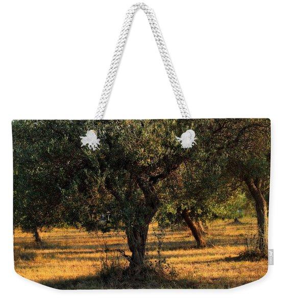 Olive Grove 3 Weekender Tote Bag