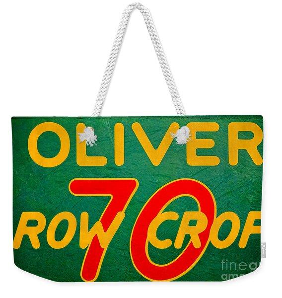 Oliver 70 Row Crop Weekender Tote Bag