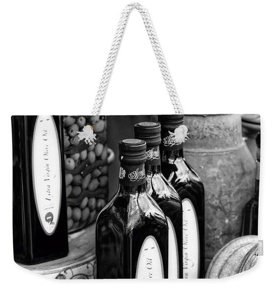 Olives And Oil Weekender Tote Bag