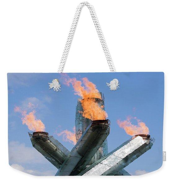 Olympic Cauldron Weekender Tote Bag