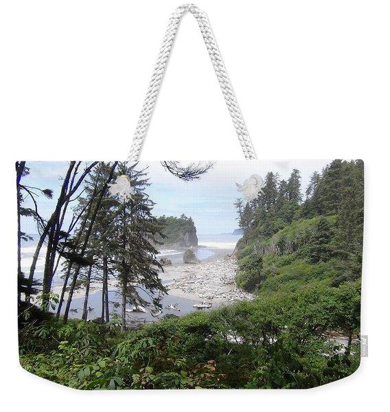 Olympic National Park Beach Weekender Tote Bag