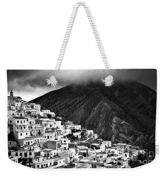 Olympos. Karpathos Island Greece Weekender Tote Bag