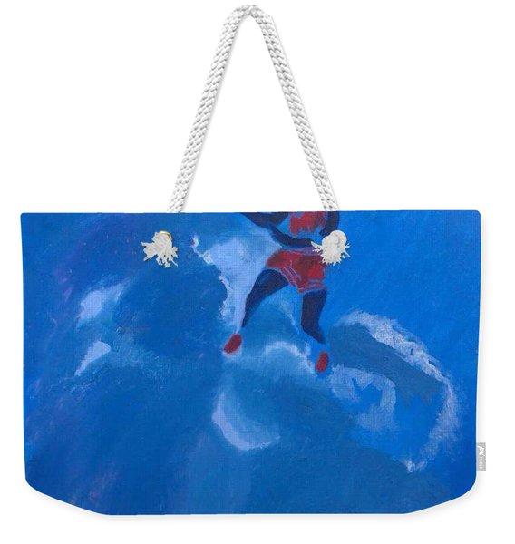 Omaggio A Michael Jordan Weekender Tote Bag