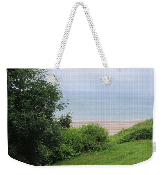 Omaha Beach At Peace Weekender Tote Bag