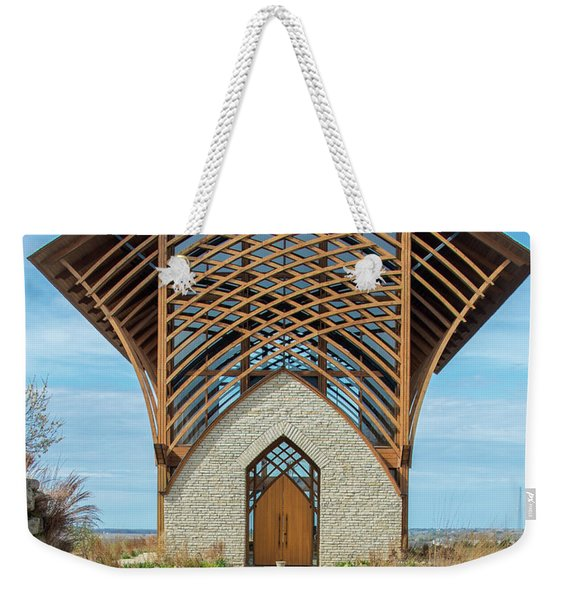 Omaha Holy Family Shrine Weekender Tote Bag