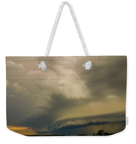 Ominous Nebraska Outflow 007 Weekender Tote Bag