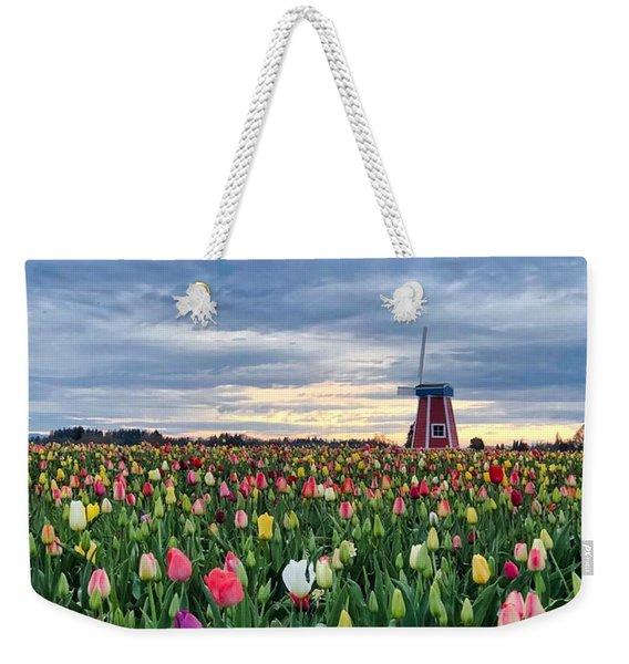 Ominous Spring Skies Weekender Tote Bag