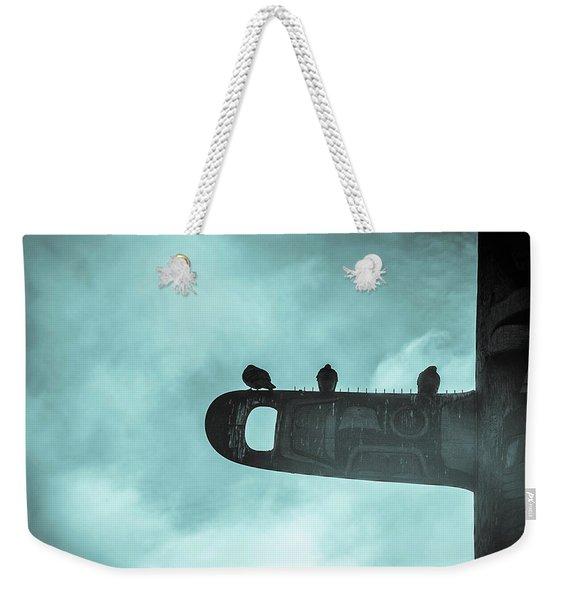 Ominously Seatlle  Weekender Tote Bag