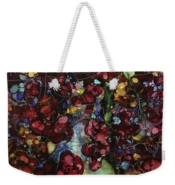 On Clustered Vine Weekender Tote Bag