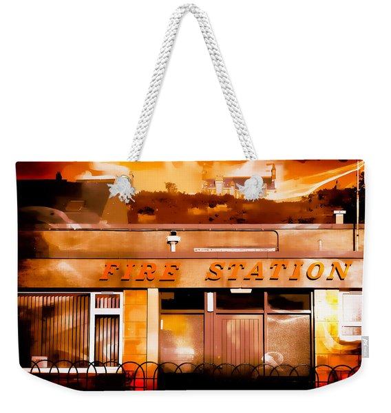 On Fire Weekender Tote Bag